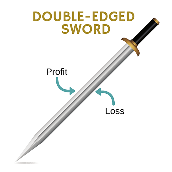 Investing - A Double-Edged Sword