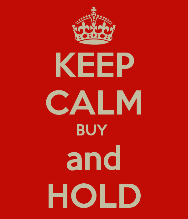 Keep Calm Buy and Hold