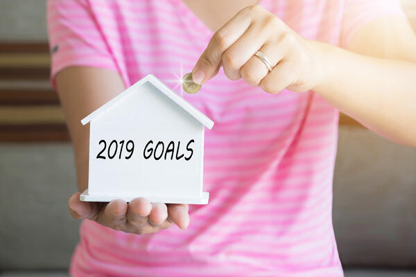 Set Financial goals to be achieved in 2019.