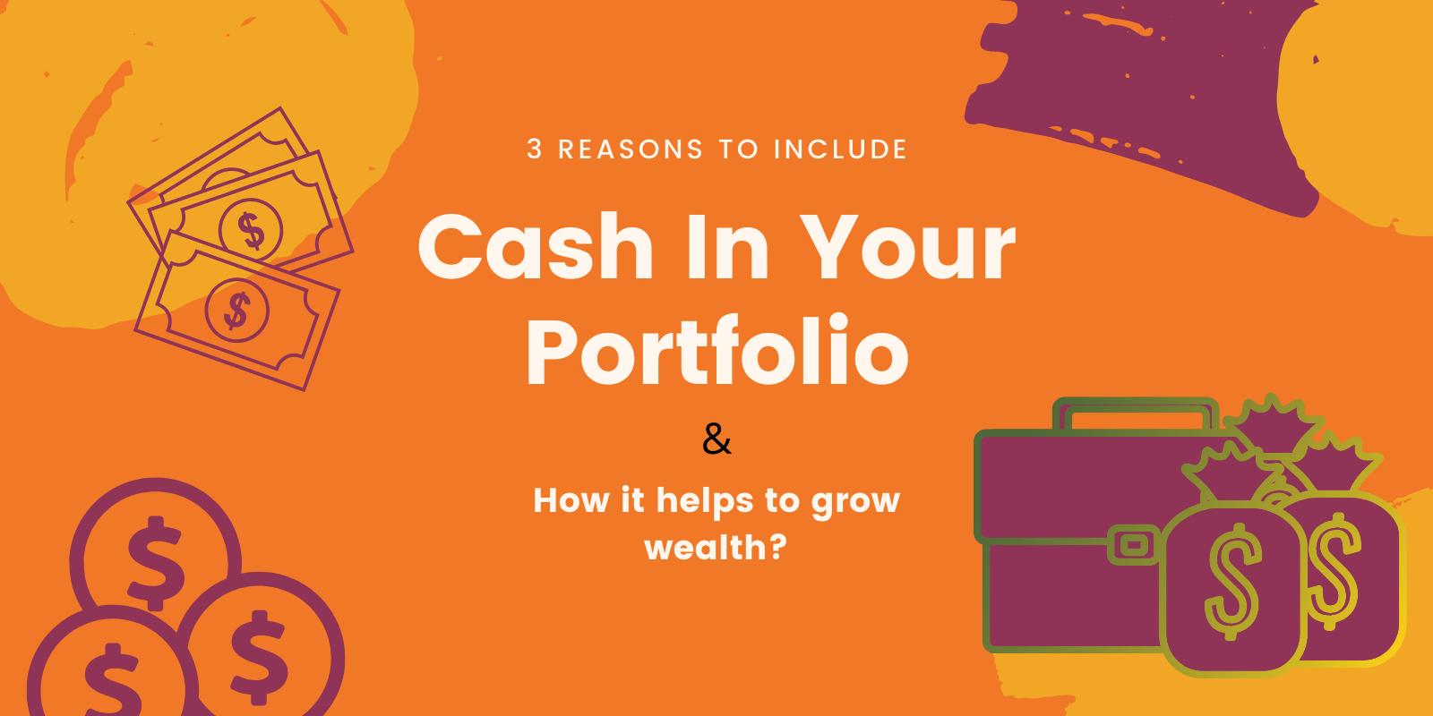 Cash In Your Portfolio
