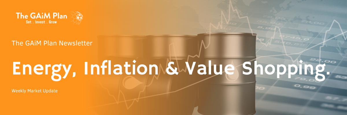 Energy, Inflation and Value Shopping