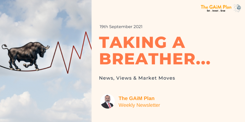 Weekly Market Update - Taking a Breather